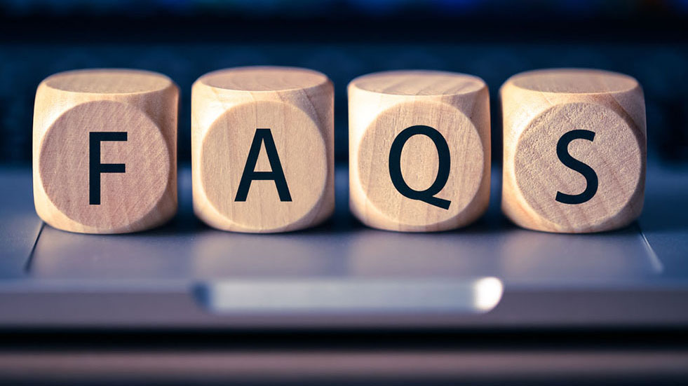 10 of our most commonly asked questions answered
